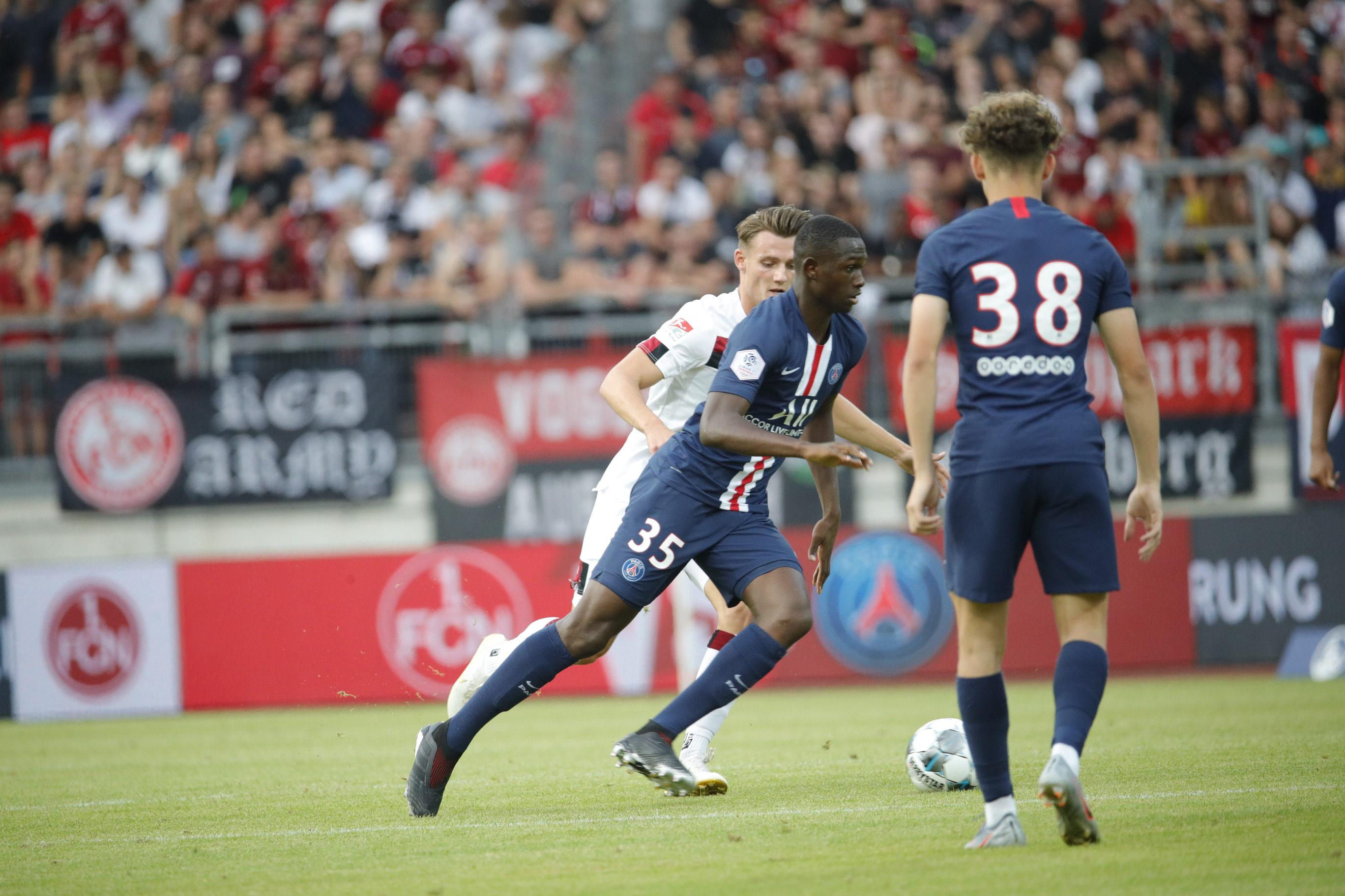 1. FC Nürnberg V Paris Saint-Germain | Paris Saint-Germain
